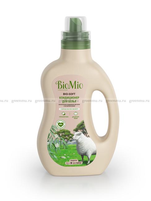 BioMio кондиционер с ароматом эвкалипта 1000 мл