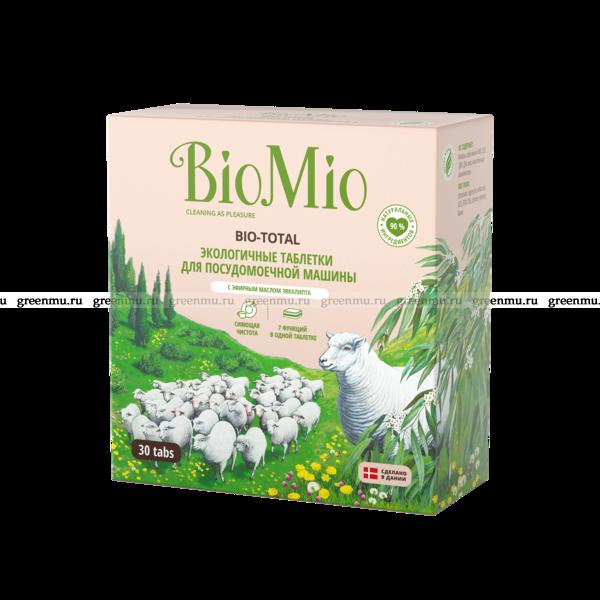BioMio Таблетки для ПММ 30 шт